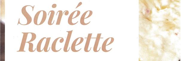 Vendredi 8 décembre : soirée raclette à partir de 13 ans