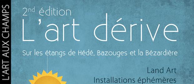 L'Art aux Champs présente sa 2ème édition de «L'Art Dérive» du 1er mai au 23 septembre