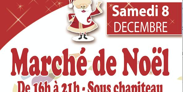 Samedi 8 Décembre : Marché de Noël