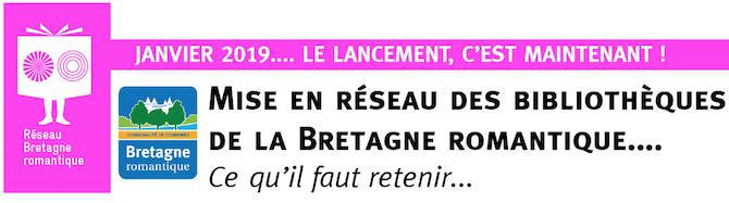 Mise en réseau des bibliothèques de la Bretagne romantique