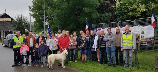 Dimanche 2 juin : Balade organisée par l'UNC Opex-Soldats de France