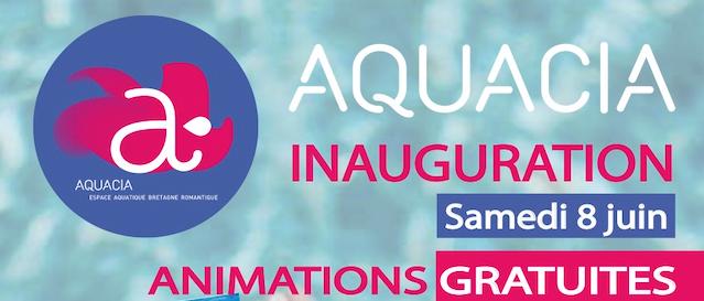 Aquacia : Inauguration de la nouvelle piscine de Combourg