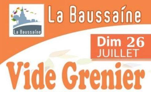 Le Comité d'Animation «La Baussaine en Fête» organise son vide grenier